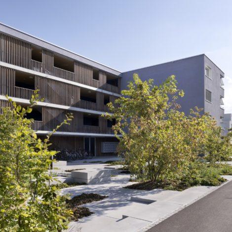 Wohnüberbauung<br>Suva Sphinxmatte Solothurn