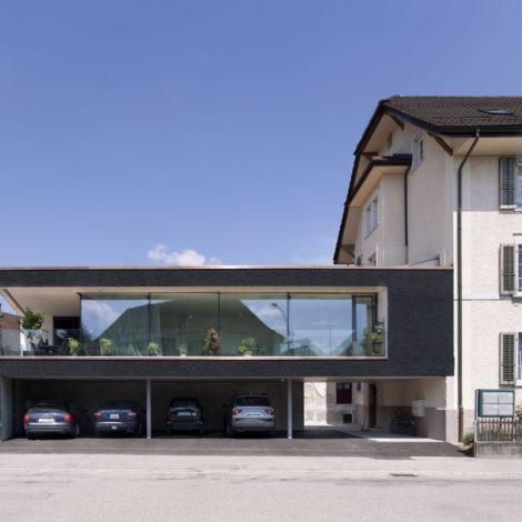 Werkhalle mit <br>erweitertem Wohnraum Solothurn