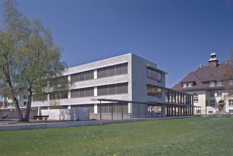 Erweiterung Schulhaus <br>Pisoni Zuchwil