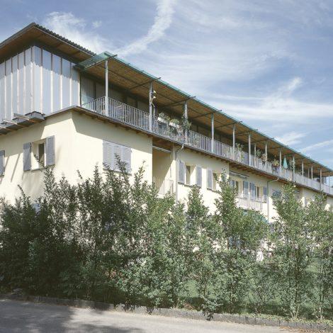 Sanierung Wohnsiedlung <br>Hofmatt Solothurn