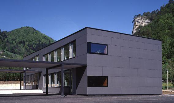 Erweiterung Schulhaus <br>Brühl Erschwil