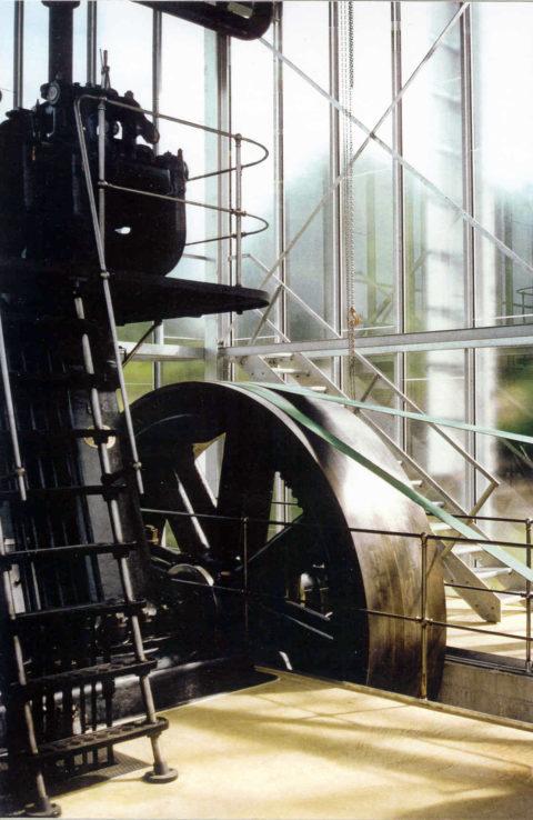 Maschinenhalle <br>Dieselaggregat Luterbach