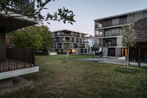 Wohnüberbauung Wohne ir Hoschtet<br>Langendorf