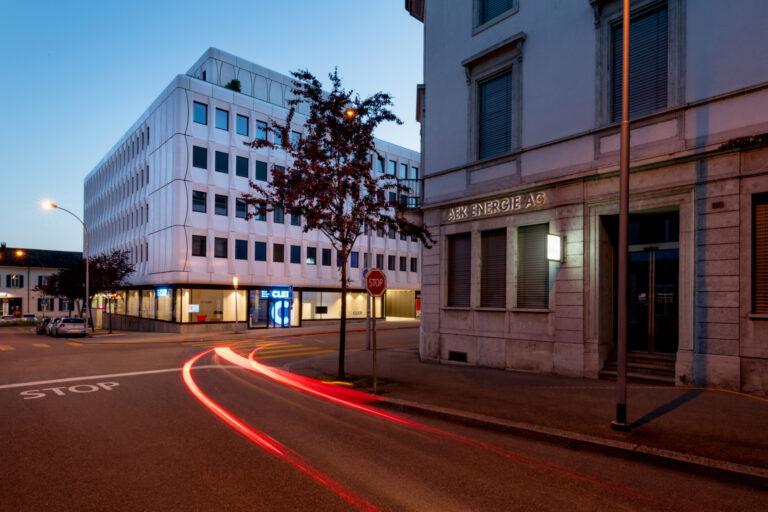 Sanierung <br>Fassade Westbahnhofstrasse Solothurn