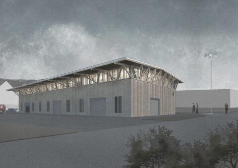 Neubau Jura Holzbau AG<br>Luterbach